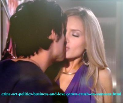 A Crush on Someone: Chloe Carter (Cynthia Kowalski) and Tyler Rorke (Justin Wilczynski) in Hollywood Heights