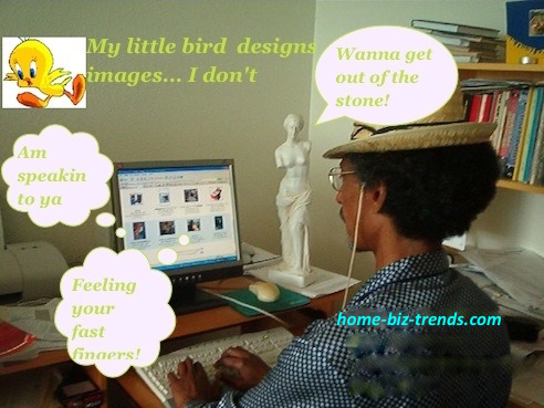 home-biz-trends.com/about-me.html - About Me: journalist Khalid Mohammed Osman getting mad at work on politics, arts, culture and literature at home biz trends blog on my computer.