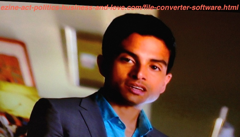 File Converter Software: Adam Rodriguez, Detective and Data and Lab. Analyst Eric Delko, CBS TV Series CSI Miami.