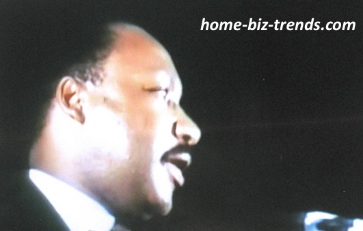 home-biz-trends.com - Blogger: Martin Luther King, Jr.