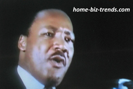 home-biz-trends.com - Blogger: Martin Luther King in One of His Public Speeches.