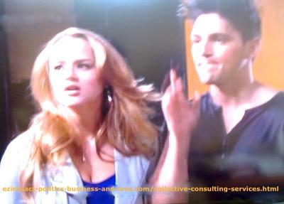 Phil Sanders (Robert Adamson) and Adriana Masters (Haley King) are Two Naughty, Disobedient and aggressive Kids in Love in Hollywood Heights.