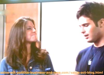 Loren Tate (Brittany Underwood) and Eddie Duran (Cody Longo), the Moment She Dreamt of the Real Love in her Life in Hollywood Heights.