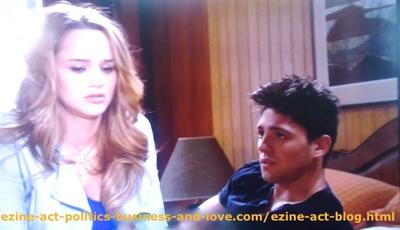 Phil Sanders (Robert Adamson) Speaking with His Love Adriana Masters (Haley King) about Abortion in Hollywood Heights.