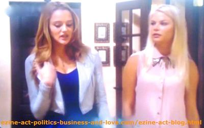 Adriana Masters (Haley King) Playing Love, Hatred and Disrespect of Others in Hollywood Heights.