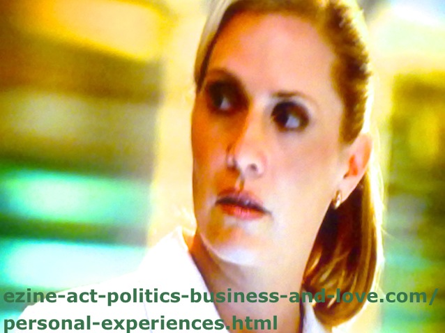 Personal Experiences in TV Series, Emily Procter, Calleigh Duquesne in CSI Miami