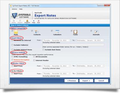 sys tools export lotus notes contact to outlook 2010