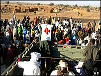 Ezine Act 52: International Aid Organization in Darfur, Sudan.