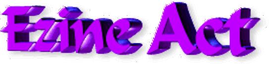 Ezine Act 61: Ezine Act Political Newsletter Logo.