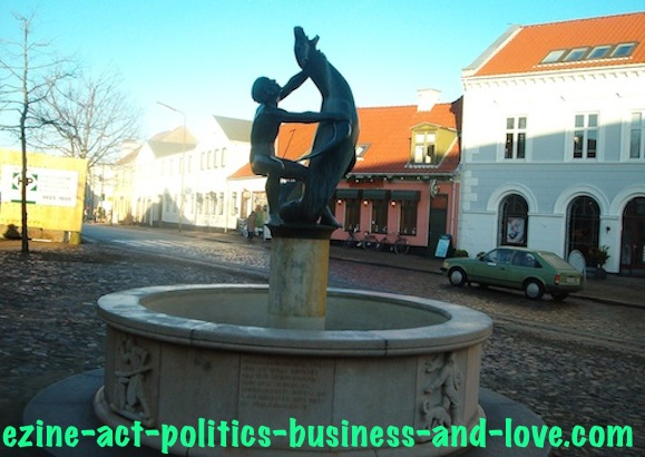 Ezine Acts Art and Culture: Danish Sculpture, Hojering, Denmark.
