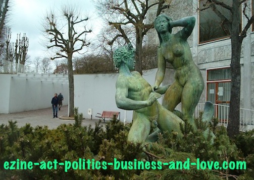 Ezine Acts Art and Culture: Danish Sculpture, Aarhus, Denmark.