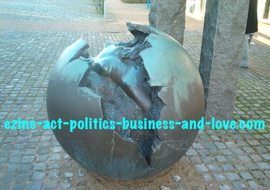 Ezine Acts Art Essence: Danish Sculpture with Creation of Art Essence, Hojering, Denmark.