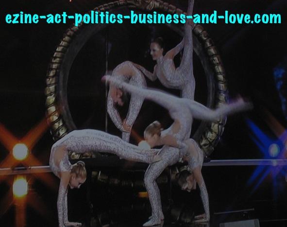 Ezine Acts Art Essence: German Acrobatics Show with an Art Essence.
