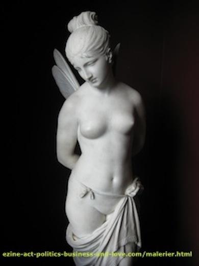 Ezine Acts Art links: Angel sculpture, beauty, Odense, Denmark.