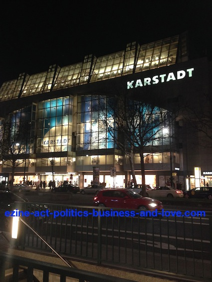 Ezine Acts Business Financing: Karstadt One Stop Business Shop, Business Centre, Germany, Berlin.