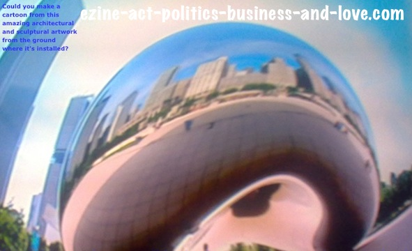 Ezine Acts Cartoons: Anish Kapoor's Architectural and Sculptural Artworks.