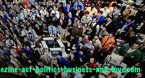 Ezine Acts Comment C2 Entries: Eddie Murphy and Dan Aykroyd in New York Stock Exchange in Trading Places.