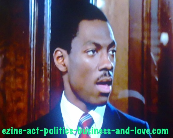 Ezine Act's Comment C2 Entries: Eddie Murphy Before Discovering the Plot in Trading Places.