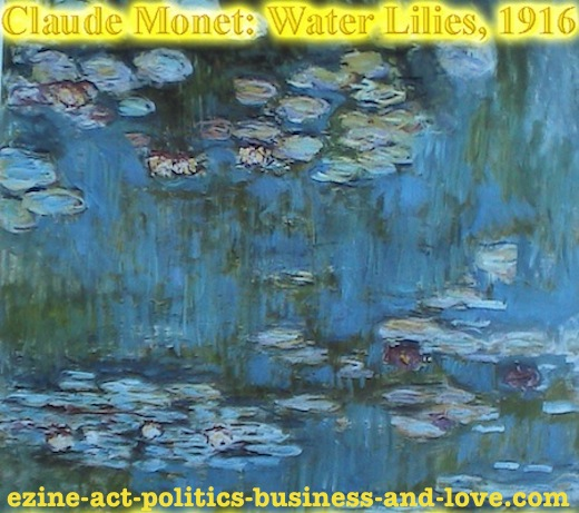 Ezine Acts Fine Arts: Claude Monet's Water Lilies, 1916.