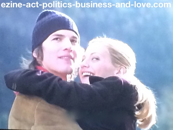 Ezine Acts Galleries: Brittany Murphy and Ashton Kutcher, Just Married, in The Movie.