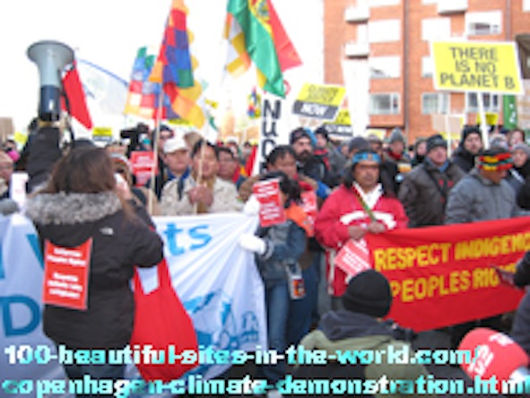Ezine Acts Humanitarian Network: Global Climate Change Demonstration in Copenhagen, Denmark.