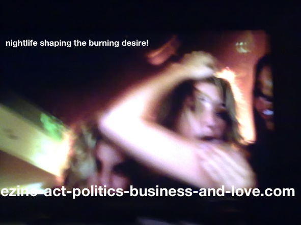 Ezine Acts Photo Gallery: Nightlife Shaping the Burning Night Desire.