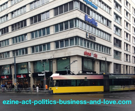 Ezine Acts Survival Tips for Small Businesses: Big Businesses Center, Berlin, Germany.