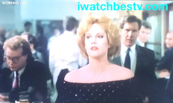 Ezine Acts Video Production: Working Girl as innovative investment dealer, Melanie Griffith and Harrison Ford at the work place.