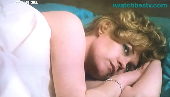 Ezine Acts Video Production: Working Girl, Melanie Griffith in Harrison Ford's Bed.