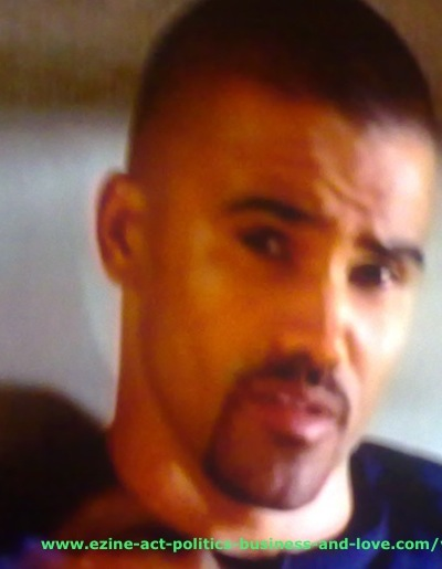 Ezine Acts Video Shows: Shemar Franklin Moore, Derek Morgan, Criminal Minds.