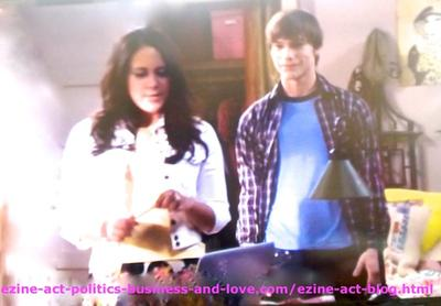 Melissa Sanders (Ashley Holliday) and her Lover Adam (Nick Krause) Speaking about their Friend Loren Tate (Brittany Underwood) and how much They Care and Love her.