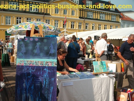 Garage Sale: Organization to Sell Arts in Your Garage, House-yard, or Flea Markets.