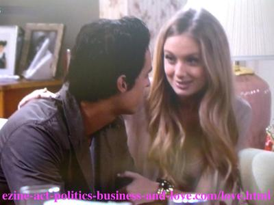 Tyler Rorke (Justin Wilczynski) the chances hunter with his ex-girlfriend Chloe Carter - Cynthia Kowalski - (Melissa Ordway) who plays love with everyone.