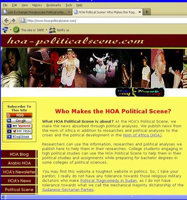 HOA-PoliticalScene.COM