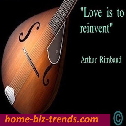 home-biz-trends.com - Home Biz Trends: Arthur Rimbaud's Emotional quote: Love is to reinvent. Reinvent with us. It is like your espresso. What else? Asks George Timothy Clooney.