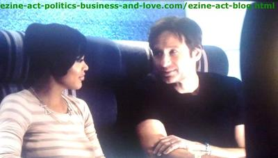 Hank Moody (David Duchovny) Hunting Love Everywhere, Even in Airplane with a Girl He Met for the First Time in the Airplane.