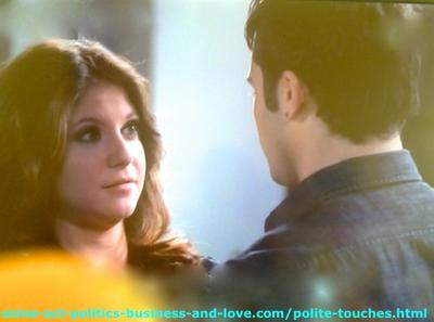 Polite Touches Between Loren and Eddie in Hollywood Heights.