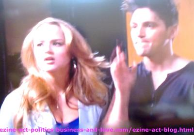 Adriana Masters (Haley King) and Phil Sanders (Robert Adamson) Two Nasty Kids at 18 Make their Families Suffer too Much in Hollywood Heights.