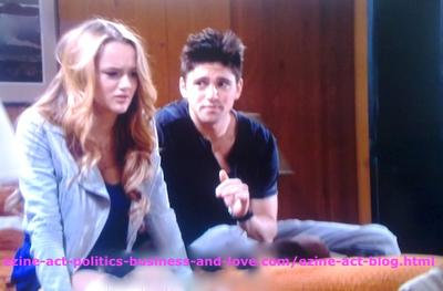 Adriana Masters (Haley King) and Phil Sanders (Robert Adamson) Decided to Continue Robbing the Clinic of her Dada Don Masters (Grayson McCouch) in Hollywood Heights.
