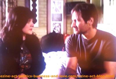 Becca Visiting Her Beloved Dad, Hank Moody in the TV Series Californication.