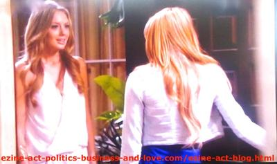 The First Time Chloe Carter (Cynthia Kowalski) Visited Adriana Masters (Haley King) to Help Her Get Rid of Loren Tate (Brittany Underwood), in Hollywood Heights.