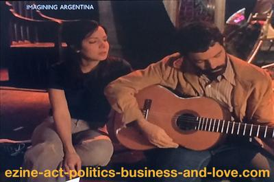 I Love My First Cousin: Love, Music, Politics and Theatre in the Movie Imagining Argentina.