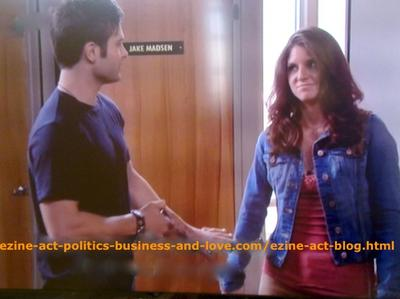 Loren Tate (Brittany Underwood) and Her First Love Eddie Duran (Cody Longo) in Hollywood Heights.