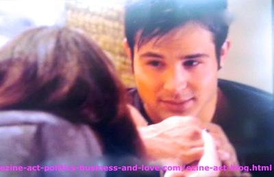 Loren Tate (Brittany Underwood) and her Love Eddie Duran (Cody Longo) in One of the Best Moments in Their Live.