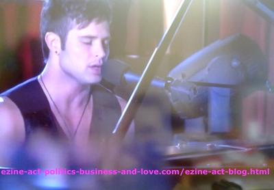 Eddie Duran (Cody Longo) Performed One of his New Songs in a New Style of Music in Hollywood Heights.