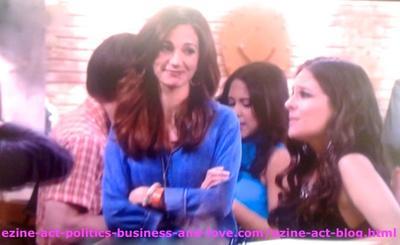 Kelly (Yara Martinez), Nora Tate (Jama Williamson) and Melissa Sanders (Ashley Holliday) in Hollywood Heights.