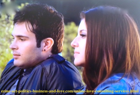 Loren Tate (Brittany Underwood) having good times with rock star Eddie Duran (Cody Longo) before becoming her boyfriend and while he was mentoring her to achieve her musical careers.