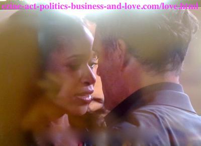 Ellie Moss (Merrin Dungey) while threatening surgeon Don Masters (Grayson McCouch) to get back to her in Hollywood Heights, or she'll disclose everything about their relation and other secrets in his clinic.
