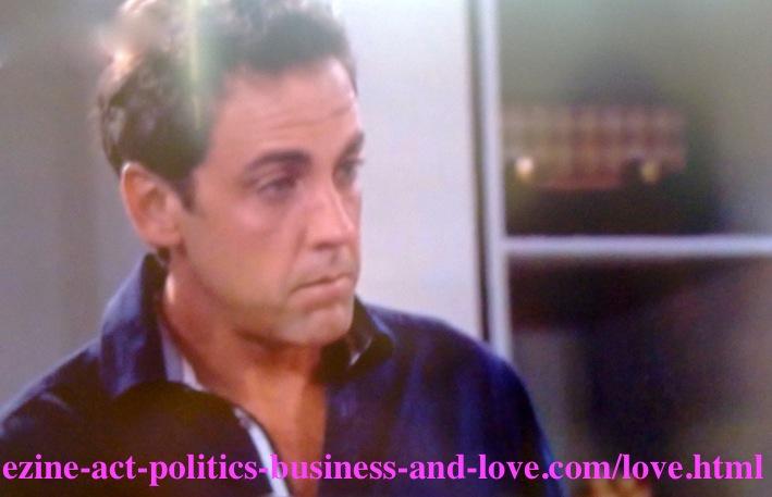 Max Duran (Cody Longo) feeling sad after a new tragedy involving his rock star son Eddie Duran (Cody Longo) conspired by his ex-girlfriend Chloe Carter - Cynthia Kowalski - (Melissa Ordway)