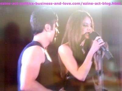 Loren Tate (Brittany Underwood) Singing One of the Songs she Wrote with Eddie Duran (Cody Longo) in Hollywood Heights.